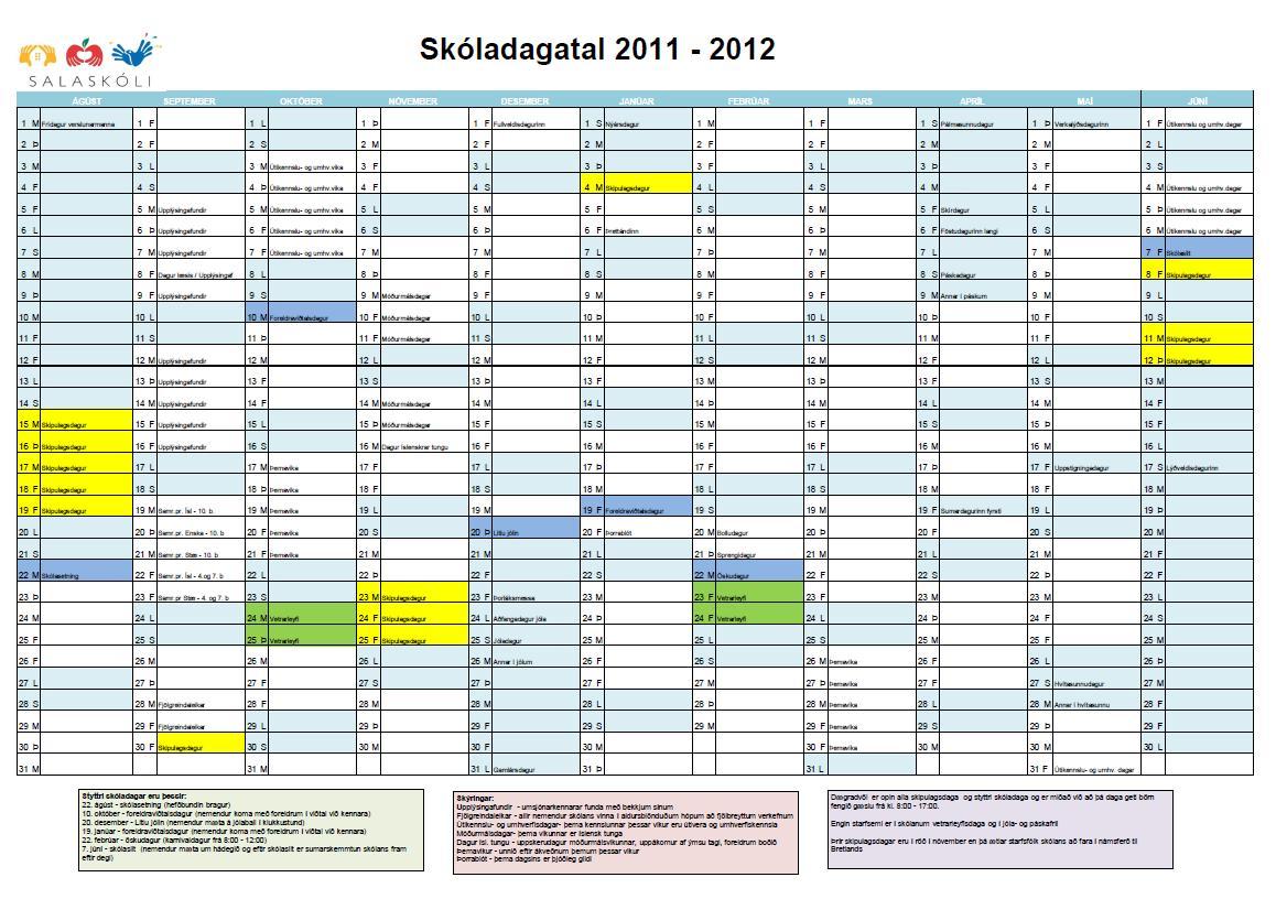skoladagatal_2011-12